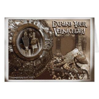 Expand Your Vernacular Greeting Card