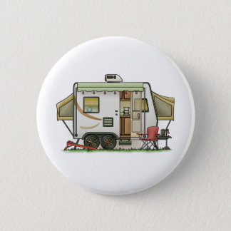 Expandable Hybred Trailer Camper 6 Cm Round Badge