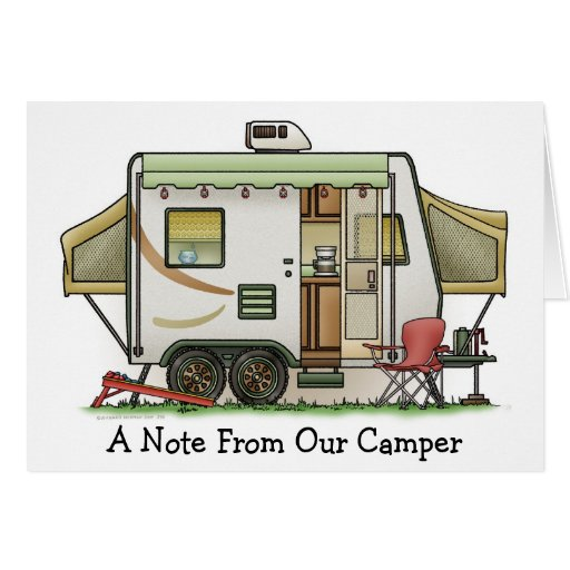 Expandable Hybred Trailer Camper Cards