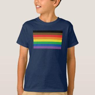 Expanded Gay Pride Rainbow Flag Customizable LGBT T-Shirt