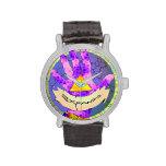 Expandis wristwatch, magic eye, all-seeing eye