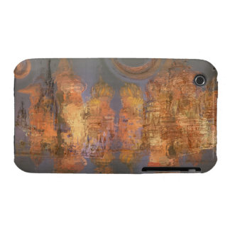 Expansion – Golden Shimmering City of Dream iPhone 3 Case-Mate Cases