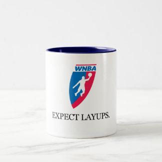 Expect Layups Two-Tone Mug