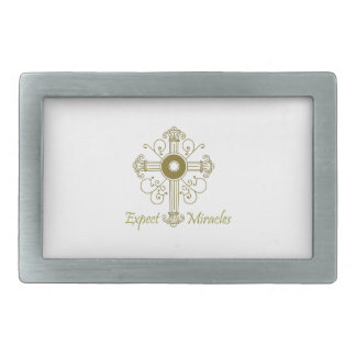 EXPECT MIRACLES BELT BUCKLES