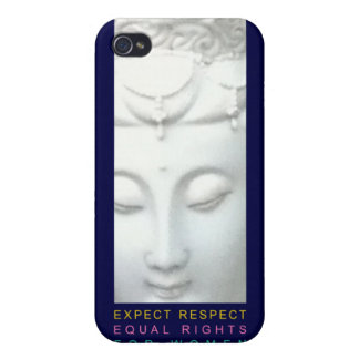 Expect Respect - Equal Rights for Women Cover For iPhone 4