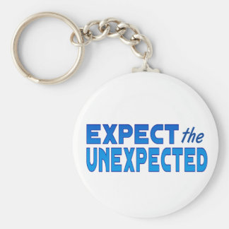 Expect the Unexpected Key Ring