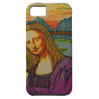 Expectant Mona Lisa iPhone 5 Covers