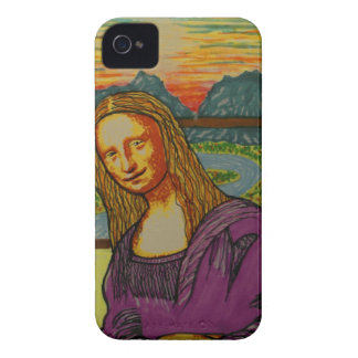 Expectant Mona Lisa Case-Mate iPhone 4 Cases