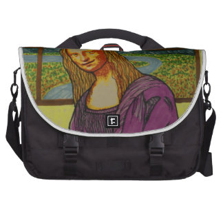 Expectant Mona Lisa Commuter Bags