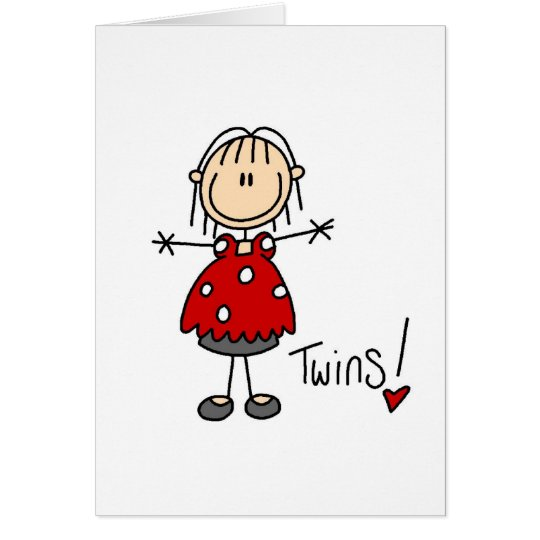 Expectant Mum of Twins Tshirts and Gifts Card