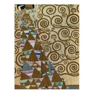 Expectation by Gustav Klimt Postcard