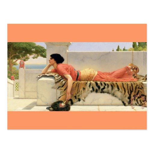 Expectations - vintage - Godward Post Card
