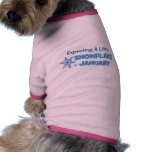 Expecting A Little Snowflake in January Maternity Pet T Shirt