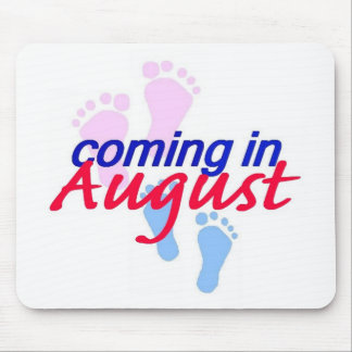 Expecting AUGUST Mousepad