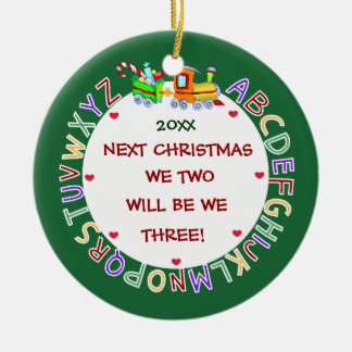 Expecting Our 1st Baby-Christmas Christmas Ornament