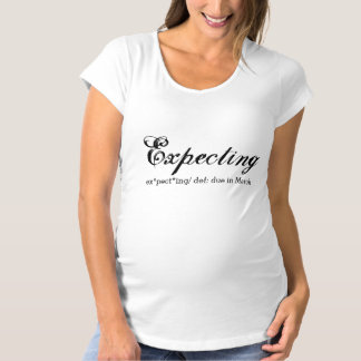 Expecting Pregnant Announcement Shirt