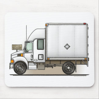 Expediter Truck Freight Hauler Mouse Pad