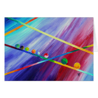 Expedition - abstract art card