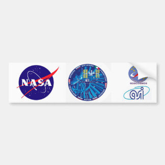 Expedition Crews to the ISS Expedition 37 Bumper Stickers