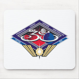 Expedition Crews to the ISS Expedition 38 Mousepad