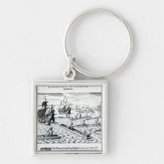 Expedition of Thomas Cavendish Key Ring