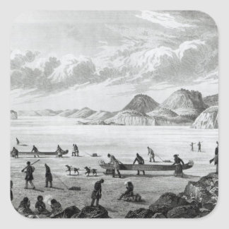 Expedition passing through Point Lata on the Square Sticker