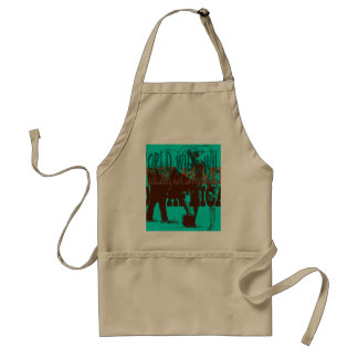 Expeditiontees World Wide Wild Standard Apron