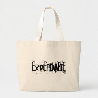 Expendable Jumbo Tote Bag