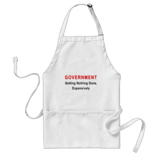 Expensive Government Adult Apron