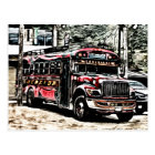 Experience Chicken Bus in Guatemala Postcard