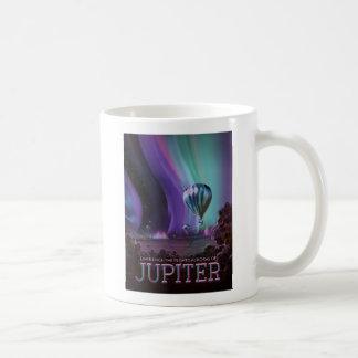 Experience the Auroras of Jupiter Coffee Mug