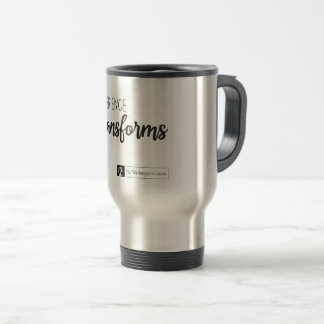 Experience Transforms Stainless Steel Mug/15oz Travel Mug