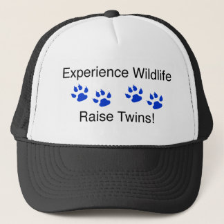 Experience Wildlife Raise Twins Trucker Hat