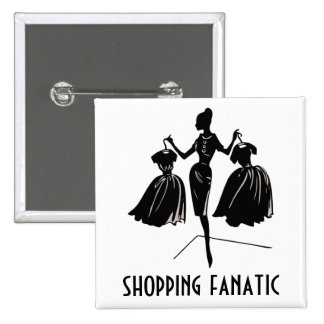 Experienced Shopper 15 Cm Square Badge