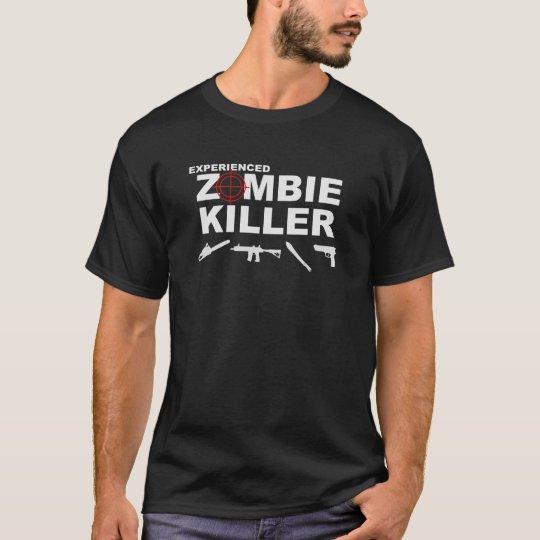 Experienced Zombie Killer t-shirt (Dark)
