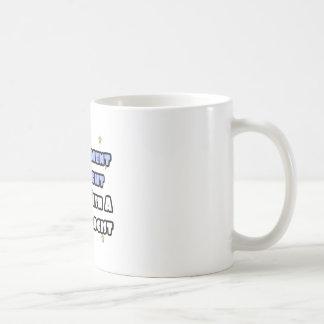 Experiment At Night...Sleep With a Psychologist Basic White Mug