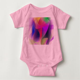 Experiment Customizable Background Baby Bodysuit