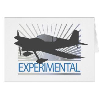 Experimental Aircraft Card