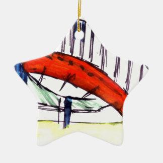 Experimentation of Colour Christmas Ornament