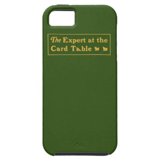 Expert at the Card Table Tough iPhone Case iPhone 5 Cases