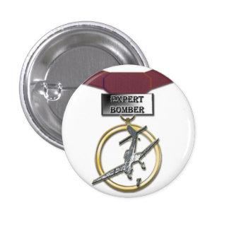 Expert Bomber medal button