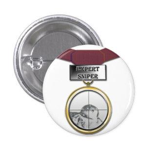 Expert Sniper medal button