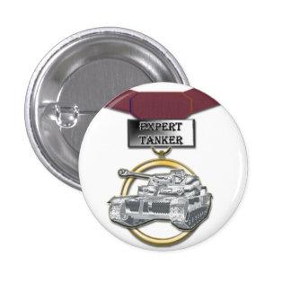 Expert Tanker medal button