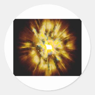 Explode 1 round sticker