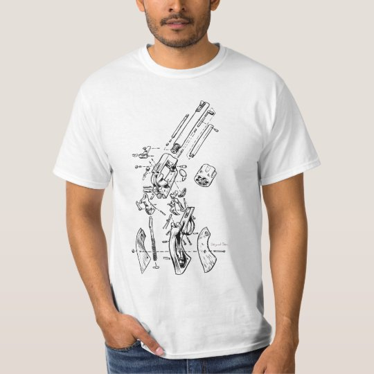 Exploded Gun T-Shirt