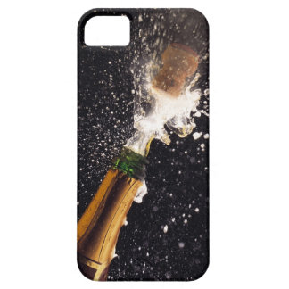 Exploding champagne bottle case for the iPhone 5