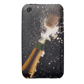 Exploding champagne bottle iPhone 3 cover