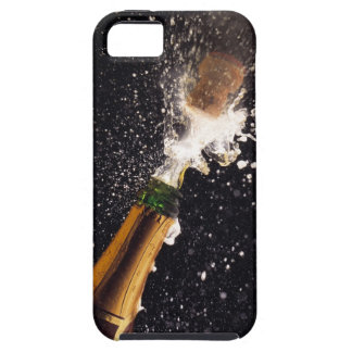 Exploding champagne bottle iPhone 5 case