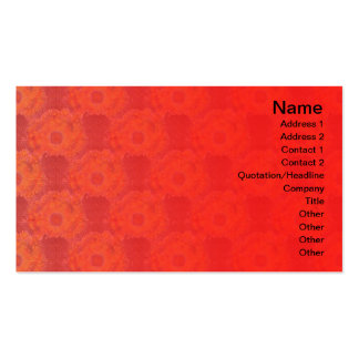 Exploding Clouds Business Card
