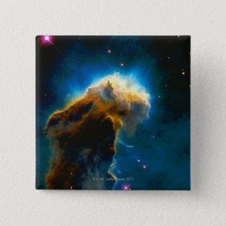 Exploding Gaseous Globule 15 Cm Square Badge